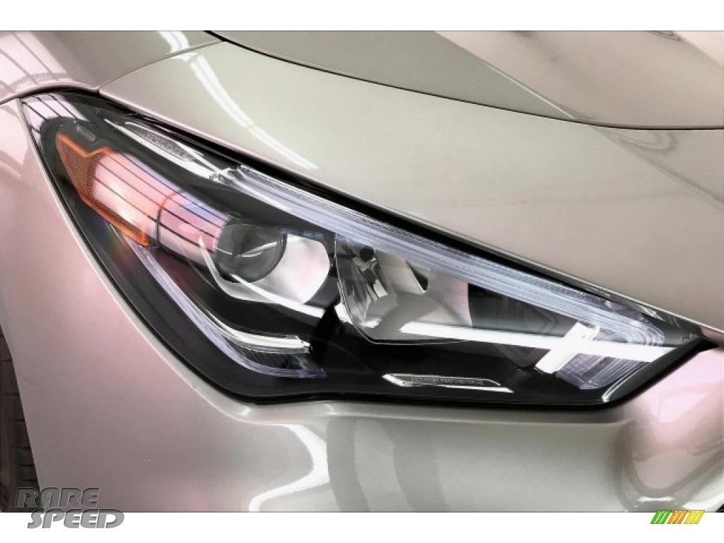 2020 CLA AMG 35 Coupe - Mojave Silver Metallic / Neva Gray/Black photo #32