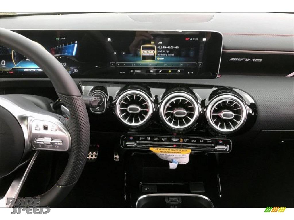 2020 CLA AMG 35 Coupe - Polar White / Black Dinamica w/Red stitching photo #5