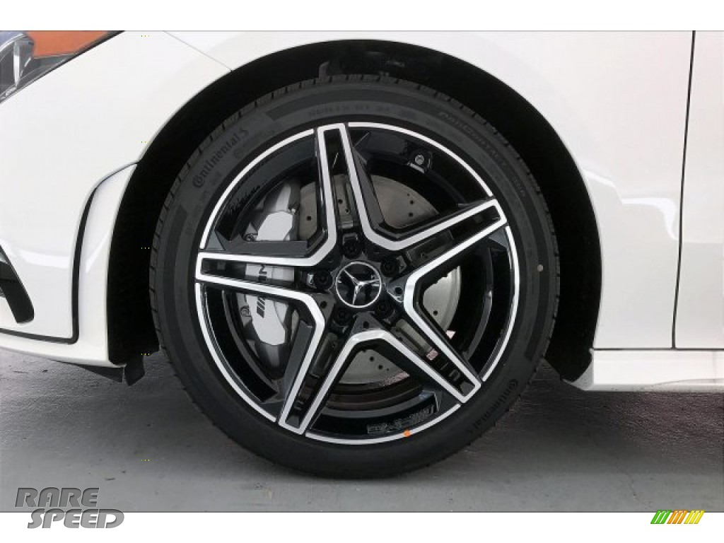 2020 CLA AMG 35 Coupe - Polar White / Black Dinamica w/Red stitching photo #8