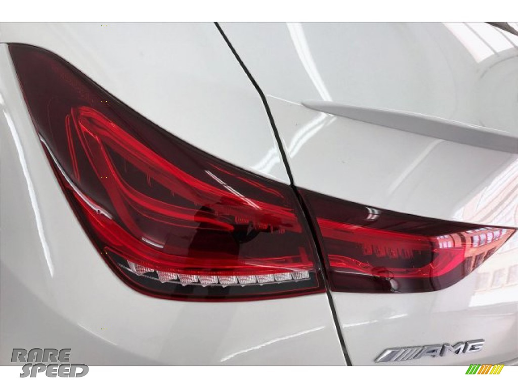 2020 CLA AMG 35 Coupe - Polar White / Black Dinamica w/Red stitching photo #26