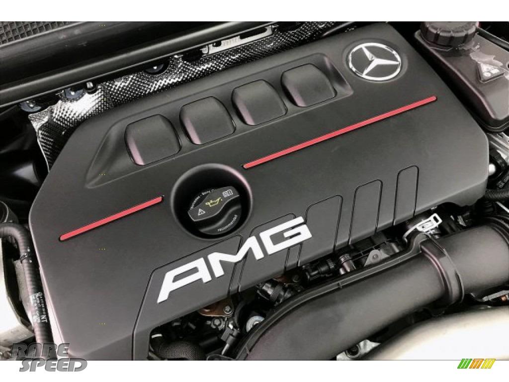 2020 CLA AMG 35 Coupe - Polar White / Black Dinamica w/Red stitching photo #31