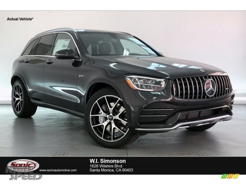 Graphite Grey Metallic / Black Mercedes-Benz GLC AMG 43 4Matic