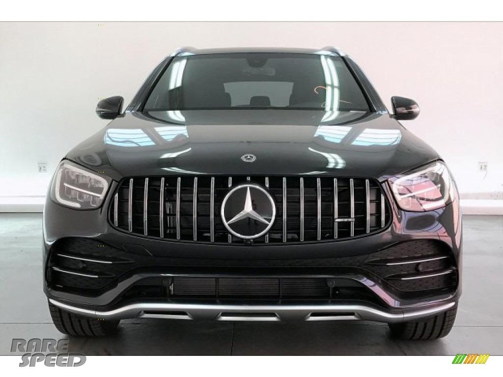 2020 GLC AMG 43 4Matic - Graphite Grey Metallic / Black photo #2
