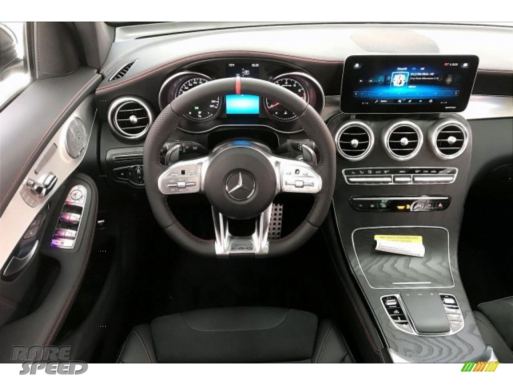 2020 GLC AMG 43 4Matic - Graphite Grey Metallic / Black photo #4