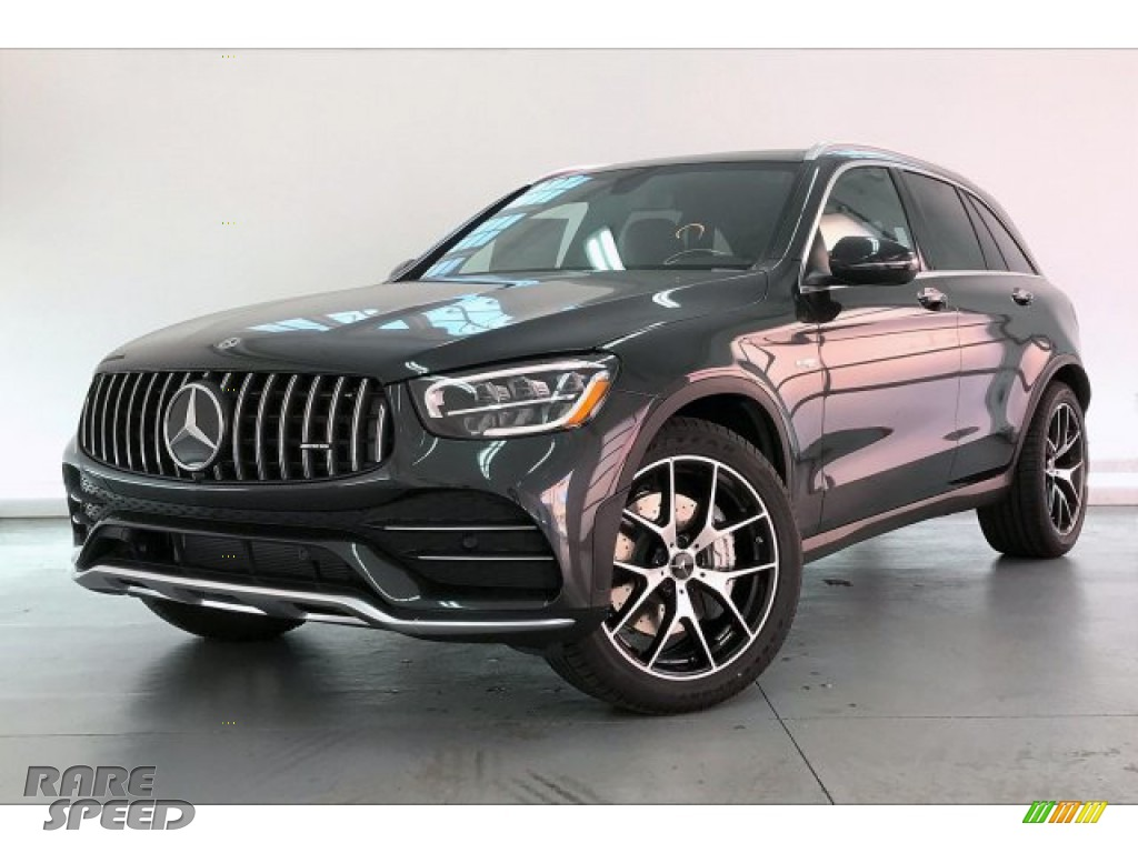 2020 GLC AMG 43 4Matic - Graphite Grey Metallic / Black photo #12