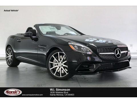 Black 2020 Mercedes-Benz SLC 43 AMG Roadster