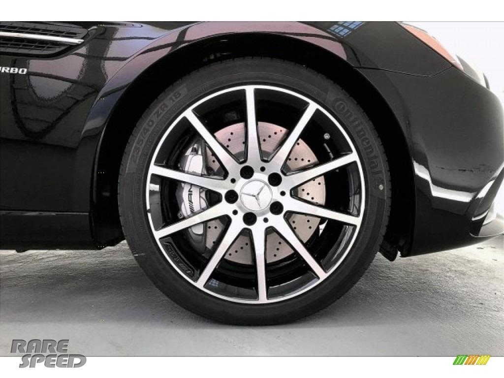 2020 SLC 43 AMG Roadster - Black / Black photo #9