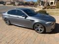 BMW M5 Sedan BMW Individual Amazonite Silver Metallic photo #4
