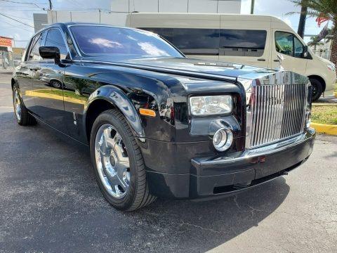 Black 2007 Rolls-Royce Phantom