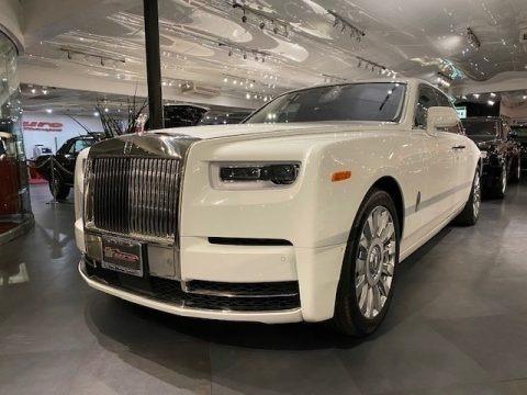 Arctic White 2019 Rolls-Royce Phantom