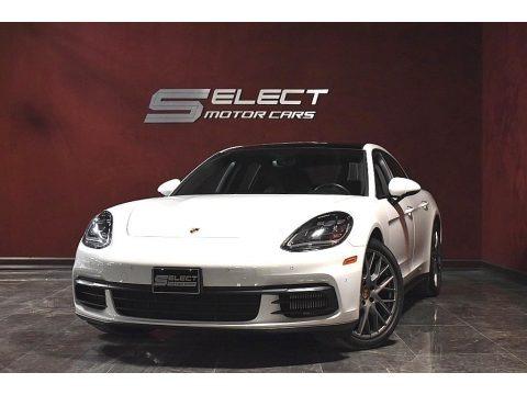 White 2017 Porsche Panamera 4S