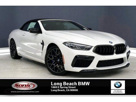 Alpine White 2020 BMW M8 Convertible