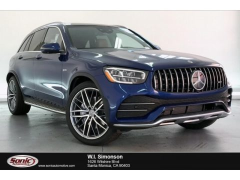 Brilliant Blue Metallic 2020 Mercedes-Benz GLC AMG 43 4Matic
