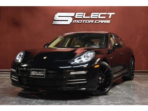 Black 2015 Porsche Panamera 4