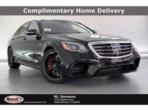 Obsidian Black Metallic 2020 Mercedes-Benz S 63 AMG 4Matic Sedan