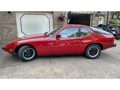 Malaga Red 1979 Porsche 924