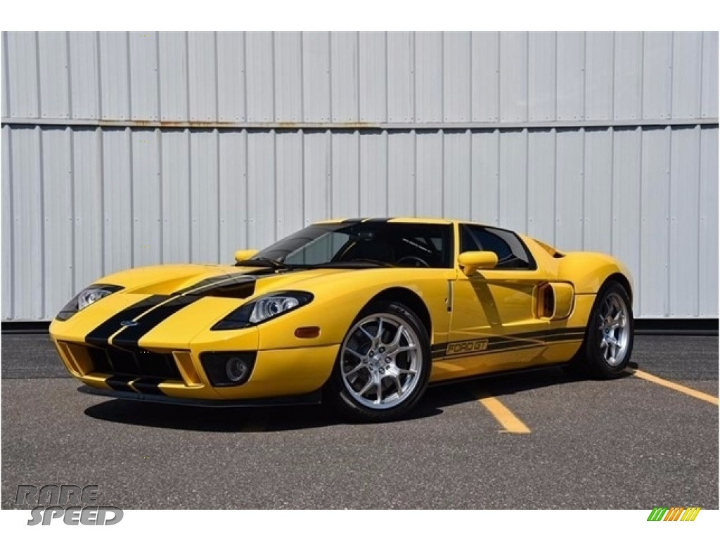 2005 GT  - Screaming Yellow / Ebony Black photo #1