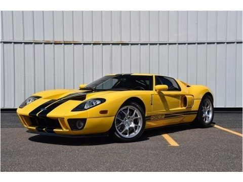 Screaming Yellow 2005 Ford GT