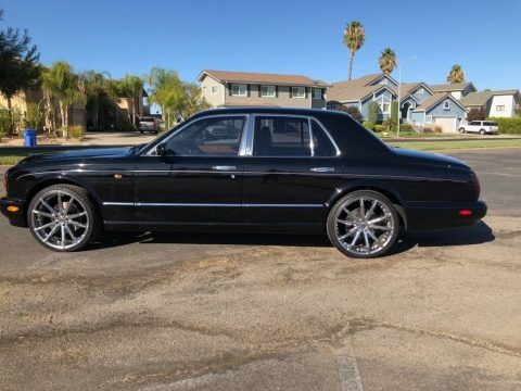 Black 1999 Bentley Arnage