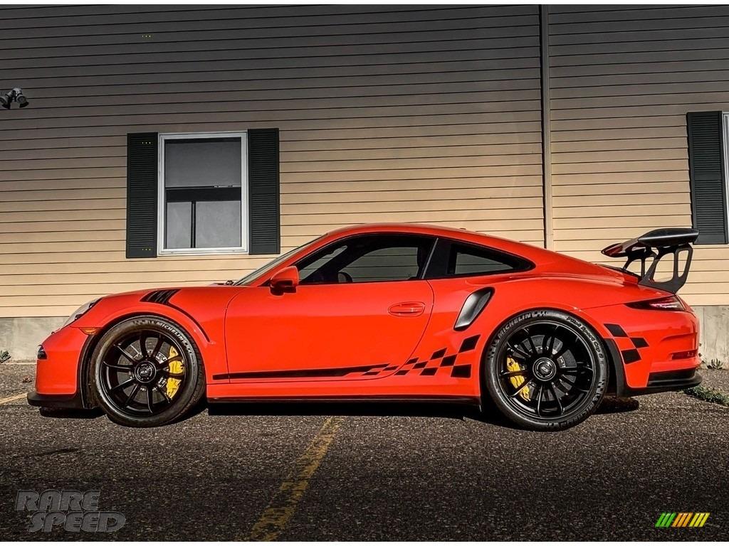 2016 911 GT3 RS - Lava Orange / Black/Lava Orange photo #1