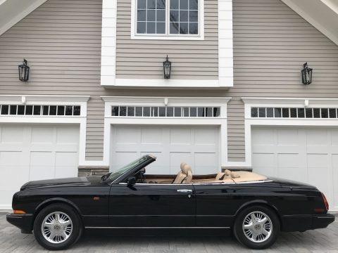 Black 1996 Bentley Azure