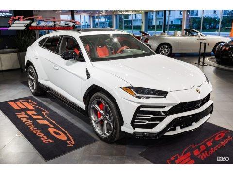 Bianco Icarus Metallic 2019 Lamborghini Urus AWD