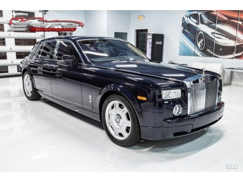 Blue Velvet 2007 Rolls-Royce Phantom