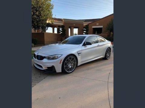 Alpine White 2016 BMW M4 Coupe