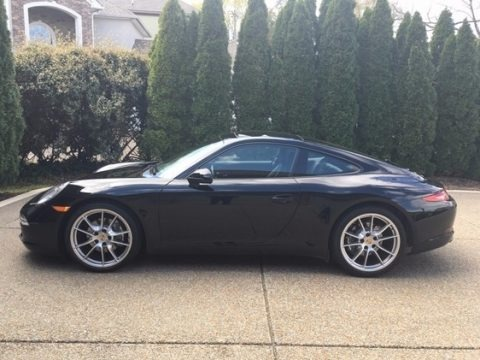 Black 2013 Porsche 911 Carrera Coupe
