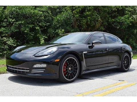 Black 2013 Porsche Panamera Platinum Edition