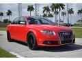 Audi S4 4.2 quattro Sedan Brilliant Red photo #2