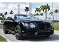 Bentley Continental GTC V8  Diamond Black Metallic photo #1