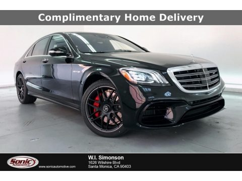 Black 2020 Mercedes-Benz S 63 AMG 4Matic Sedan