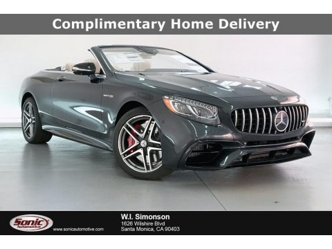 Magnetite Black Metallic 2020 Mercedes-Benz S 63 AMG 4Matic Convertible