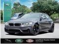 BMW M3 Sedan Mineral Grey Metallic photo #1