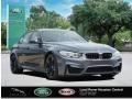 BMW M3 Sedan Mineral Grey Metallic photo #4