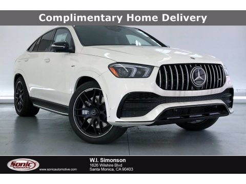 designo Diamond White Metallic 2021 Mercedes-Benz GLE 53 AMG 4Matic Coupe