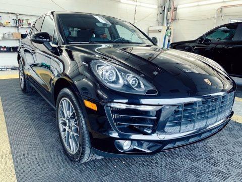 Black 2016 Porsche Macan S