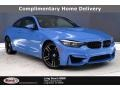 BMW M4 Coupe Yas Marina Blue Metallic photo #1