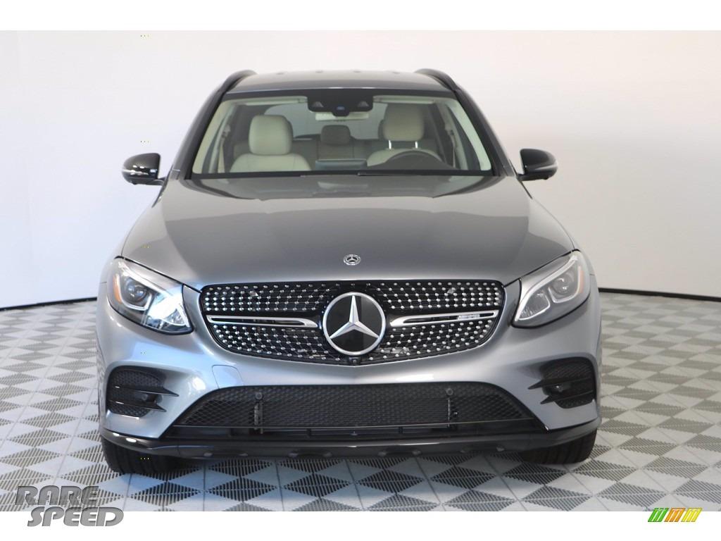 2019 GLC AMG 43 4Matic - Selenite Grey Metallic / Silk Beige/Black photo #3