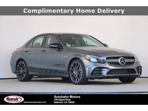 Selenite Grey Metallic 2020 Mercedes-Benz C AMG 43 4Matic Sedan