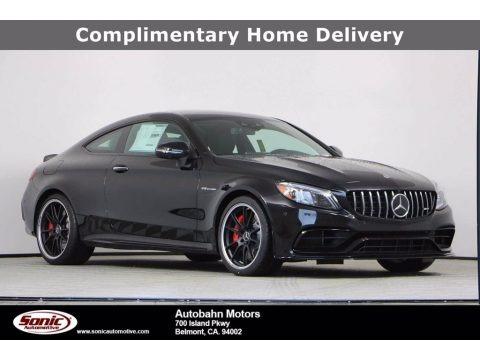 Obsidian Black Metallic 2020 Mercedes-Benz C AMG 63 S Coupe