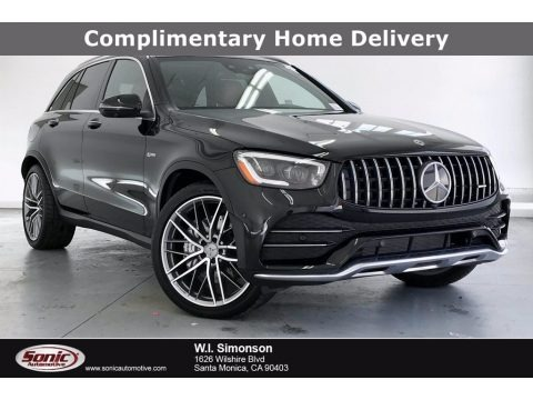 Obsidian Black Metallic 2020 Mercedes-Benz GLC AMG 43 4Matic