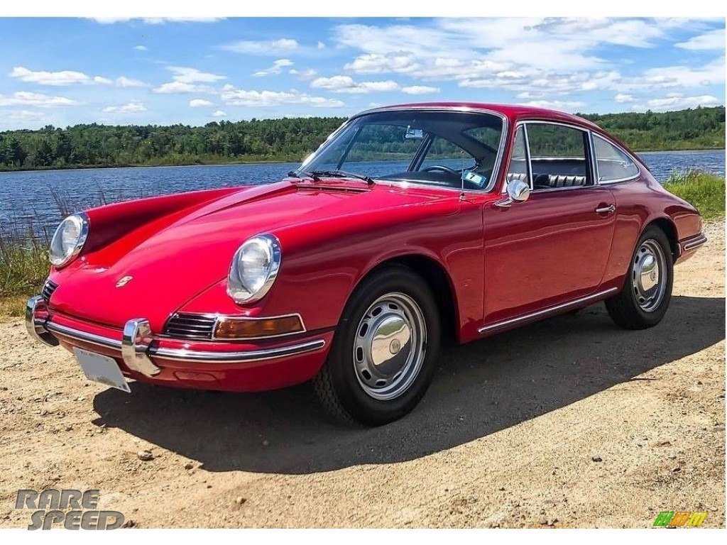 Polo Red / Black Porsche 912 Karmann Coupe