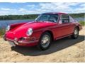 Porsche 912 Karmann Coupe Polo Red photo #1