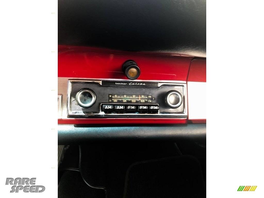 1966 912 Karmann Coupe - Polo Red / Black photo #10