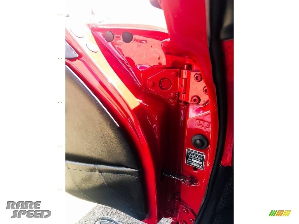 1966 912 Karmann Coupe - Polo Red / Black photo #15