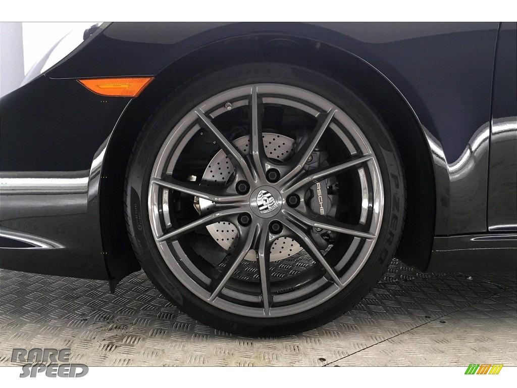 2019 911 Carrera T Coupe - Black / Black photo #7