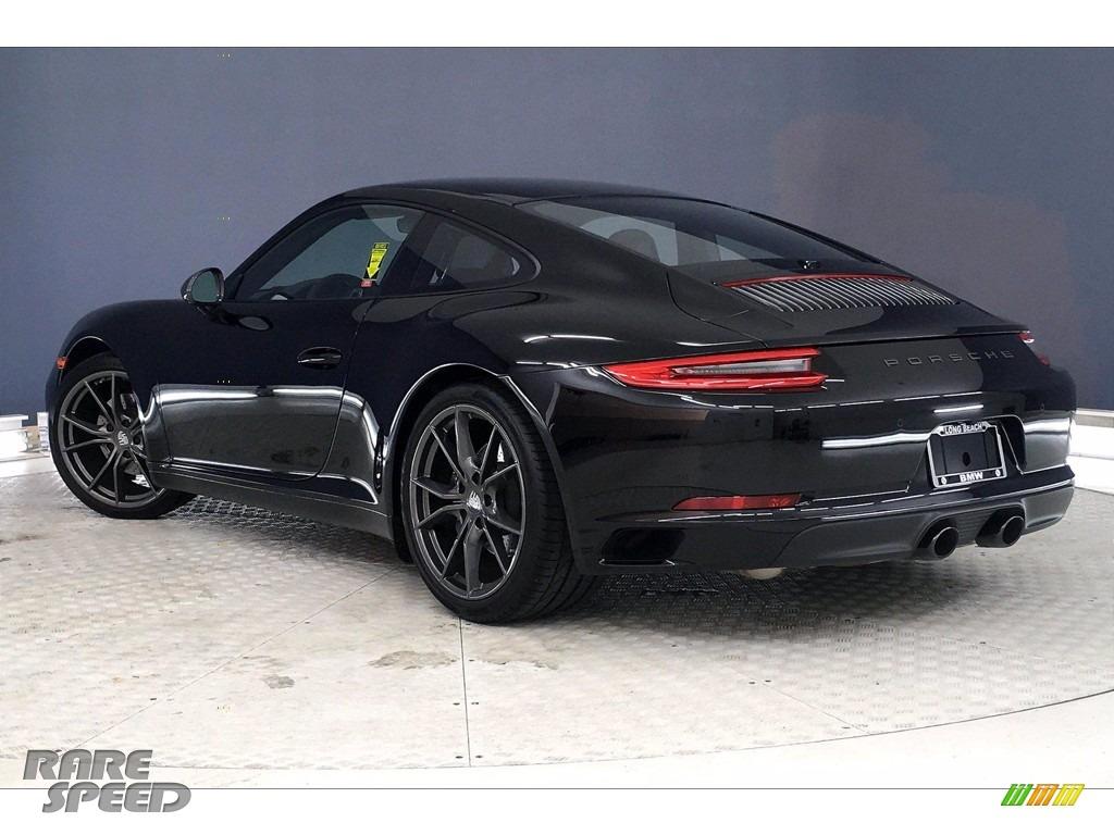 2019 911 Carrera T Coupe - Black / Black photo #9
