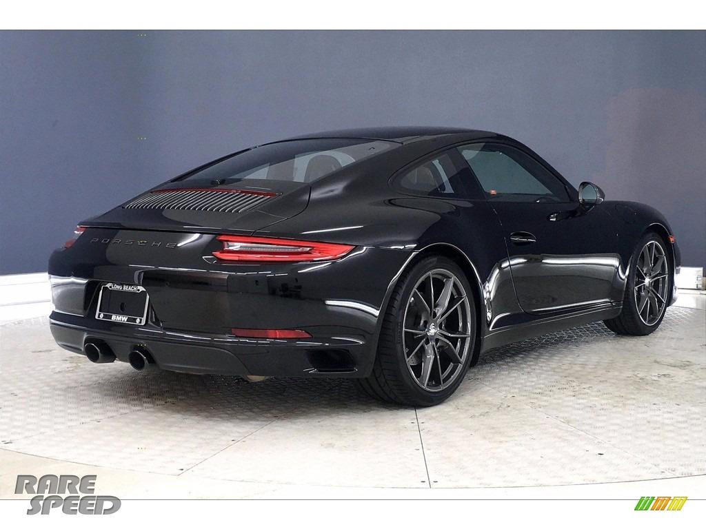 2019 911 Carrera T Coupe - Black / Black photo #12